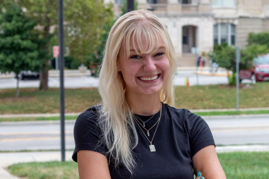 Picture of Junior Katie Wiseman for blog post