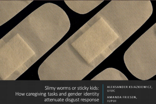 Slimy worms and sticky kids poster