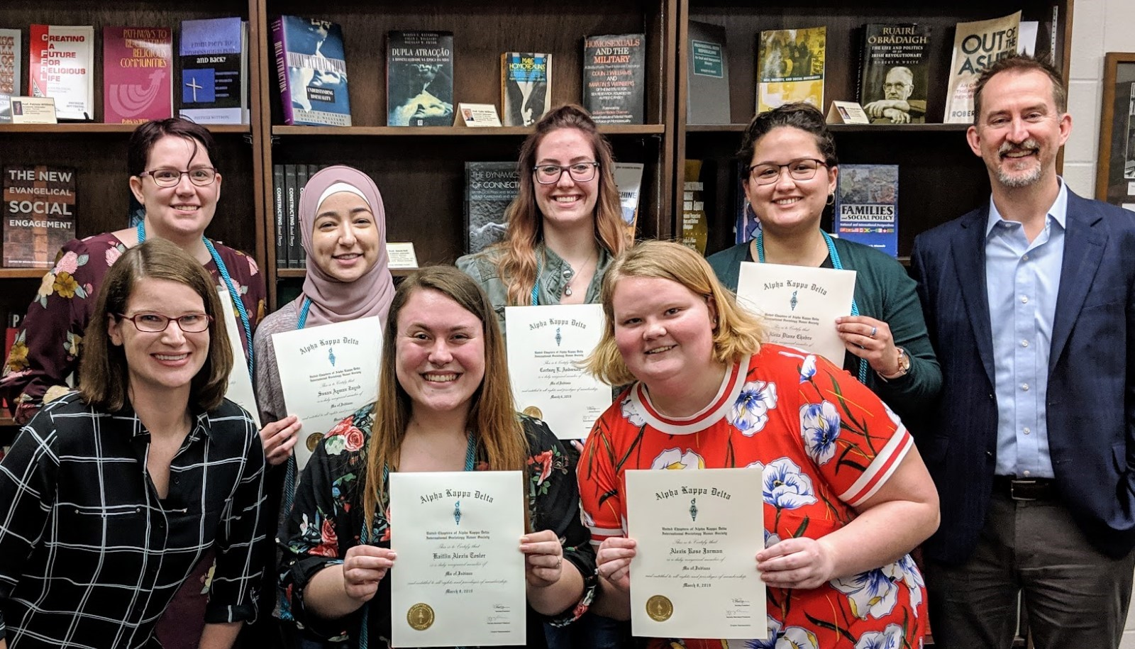 Spring 2019 Inductees image