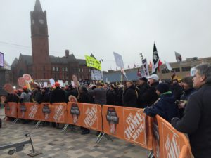 The scene up close and personally at College Gameday.
