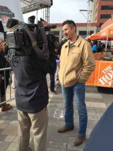 Former Iowa Hawkeye Dallas Clark was the guest picker for Saturday's show.